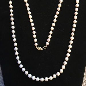 Jewelry - Pearl Necklace 14k clasp